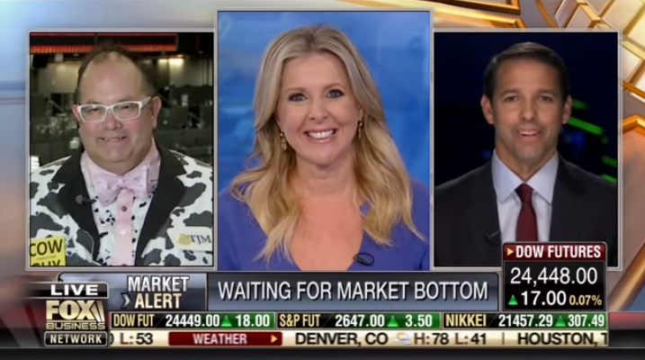 Ian King on FOX Business News: October 2018 Market Volatility